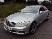 2010 MERCEDES-BENZ S CLASS 3.0 S350 CDI BLUEEFFICIENCY 4d AUTO 235BHP £13490.00