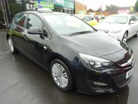 USED 2013 13 VAUXHALL ASTRA 1.6 ENERGY 5d 113 BHP CALL 01543 379066... 12 MONTHS MOT... 6 MONTHS WARRANTY... JUST ARRIVED