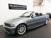 2004 BMW 3 SERIES 2.2 320CI SPORT 2d AUTO 168 BHP £5799.00