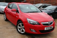 2011 VAUXHALL ASTRA 1.4 SRI 5d 98 BHP £6000.00
