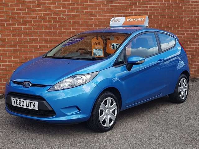 2010 60 FORD FIESTA 1.2 EDGE 3d LOW MILES