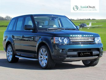 2012 LAND ROVER RANGE ROVER SPORT 5.0 V8 HSE 5d AUTO 510 BHP £28990.00