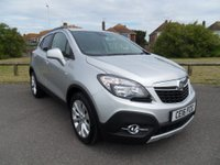 2016 VAUXHALL MOKKA 1.6 SE CDTI S/S 4x4 4WD 5 Dr 134 BHP SILVER, ONLY 1550 MILES £14995.00