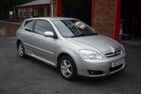2007 TOYOTA COROLLA 1.4 COLOUR COLLECTION D-4D 3d 89 BHP £4950.00