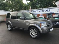 2010 LAND ROVER DISCOVERY 3.0 4 TDV6 HSE 5d AUTO 245 BHP £23495.00