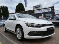 2012 VOLKSWAGEN SCIROCCO 2.0 TDI BLUEMOTION TECHNOLOGY 2d  £10995.00