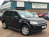 2010 LAND ROVER FREELANDER 2.2 SD4 XS AUTO 190 BHP Touch Screen NAV Bluetooth