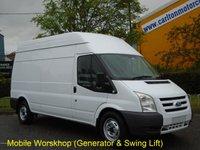 2009 FORD TRANSIT 115 T350L High Roof [ Mobile Workshop+Invertor Swing Lift ] van Low mileage Free UK Delivery £10950.00