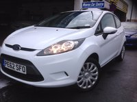 2012 FORD FIESTA 1.2 EDGE 3d 59 BHP £5000.00