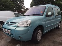 2005 CITROEN BERLINGO 2.0 MULTISPACE DESIRE HDI 5d 90 BHP 5 SEATER  £1500.00