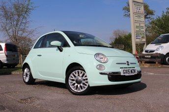2015 FIAT 500 1.2 LOUNGE 3d 69 BHP £8995.00