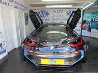 USED 2016 16 BMW I8 1.5 I8 2d AUTO 228 BHP Finished in Sophisto Grey/Carum Grey Leather Interior