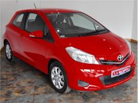 USED 2013 63 TOYOTA YARIS 1.33 VVT-i TR Hatchback 3dr Petrol Manual (123 g/km, 99 bhp) ONLY 3000 MILES! RAC APPROVED