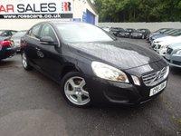 2011 VOLVO S60 1.6 DRIVE SE S/S 4d 113 BHP £9495.00