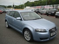USED 2008 57 AUDI A3 SPORTBACK 2.0 TDI SE 5d 138 BHP FSH & superb throughout, climate A/C & more.