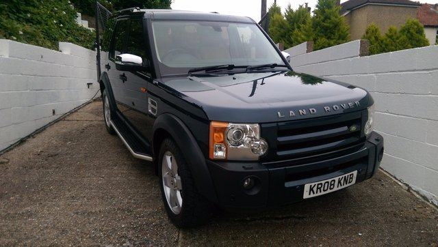 2008 08 LAND ROVER DISCOVERY 2.7 3 TDV6 HSE 5d AUTO 188 BHP