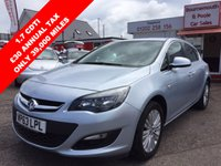 2014 VAUXHALL ASTRA 1.7 EXCITE CDTI 5d 108 BHP £7495.00