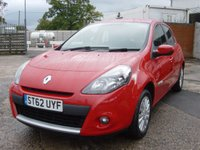 2013 RENAULT CLIO 1.1 EXPRESSION PLUS 16V 5d 75 BHP ALLOY WHEELS AIR CONDITIONING £SOLD