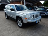 2011 JEEP PATRIOT 2.1 SPORT CRD 5d 161 BHP £8990.00
