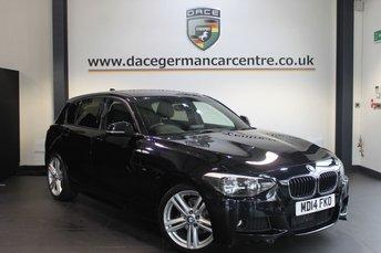 2014 BMW 1 SERIES 1.6 116I M SPORT 5d 135 BHP £12970.00