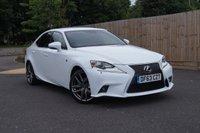 2013 LEXUS IS 2.5 300H F SPORT 4d AUTO 220 BHP £19850.00