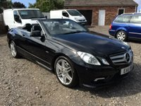 2011 MERCEDES-BENZ E CLASS 3.0 E350 CDI BLUEEFFICIENCY SPORT 2d AUTO £19990.00