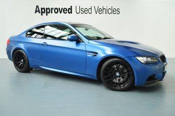 2012 BMW M3 4.0 M3 M PERFORMANCE EDITION 2d AUTO 415 BHP £42950.00
