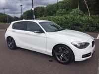 2012 BMW 1 SERIES 1.6 116I SPORT 5d 135 BHP £11450.00