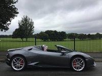 2016 LAMBORGHINI HURACAN 5.2 LP 610-4 SPYDER 2d AUTO 610 BHP £239995.00
