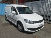 2013 VOLKSWAGEN CADDY MAXI C20 1.6 TDi TRENDLINE BLUEMOTION LWB 102PS £SOLD