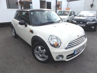 2007 MINI HATCH COOPER 1.6 COOPER D 3d 108 BHP £5495.00