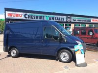 2011 FORD TRANSIT 2.2 SAME DAY VAN FINANCE OPEN 7 DAYS 200 VANS IN STOCK £8495.00