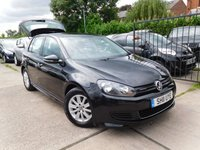 2011 VOLKSWAGEN GOLF 1.6 S TDI BLUEMOTION 5d 103 BHP £7295.00