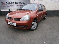 2007 RENAULT CLIO 1.2 CAMPUS 5dr £1780.00