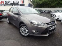 USED 2013 02 FORD FOCUS 1.0 TITANIUM 5d 124 BHP NATIONALLY PRICE CHECKED DAILY