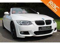 USED 2011 02 BMW 3 SERIES 3.0 325D M SPORT 2d AUTO 202 BHP PROFESSIONAL SAT NAV / 19 INCH ALLOYS / BI-XENON HEADLIGHTS / 2 KEYS
