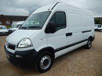 2010 VAUXHALL MOVANO  3500 MWB HIGH ROOF 2.5 CDTI 120 BHP ONLY 15328 MILES £7995.00