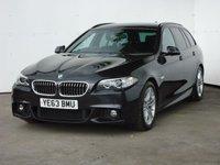 2013 BMW 5 SERIES 2.0 520D M SPORT TOURING 5d AUTO 181 BHP £19999.00