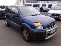 2007 FORD FUSION 1.4 PURSUIT CLIMATE CLOTH LIMITED 5d 80 BHP £2590.00