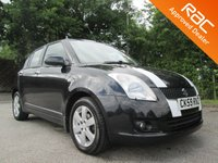 2009 SUZUKI SWIFT 1.5 GLX 5d 100 BHP £2950.00