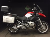 2006 BMW R1200GS 2006, 12k, JUST SERVICED. FULL LUGGAGE. EXTRAS £6250.00