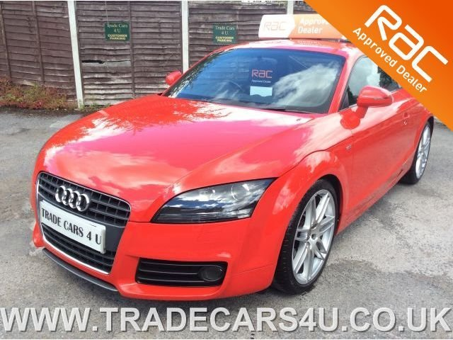 2010 10 AUDI TT COUPE 2.0 TFSI TURBO S LINE IN RED