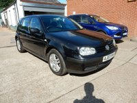 2003 VOLKSWAGEN GOLF 1.6 MATCH 5d 103 BHP £1000.00