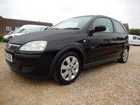 2004 VAUXHALL CORSA 1.2 SXI 16V 75 BHP 3 DOOR HATCHBACK ONLY 62551 MILES BLACK £1995.00