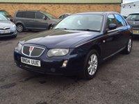 2004 ROVER 75 1.8 CONNOISSEUR 4d 118 BHP £1395.00