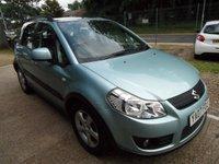 2007 SUZUKI SX4 1.6 GLX 5d 106 BHP £2595.00