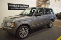 2009 LAND ROVER RANGE ROVER 3.6 TDV8 WESTMINSTER 5d AUTO 272 BHP £16199.00