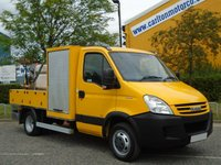 2008 IVECO-FORD DAILY 50C15 3.0Hpi C/Cab [ Whale Mobile High Pressure Jetting Unit ] Low Mileage Free UK Delivery £17950.00