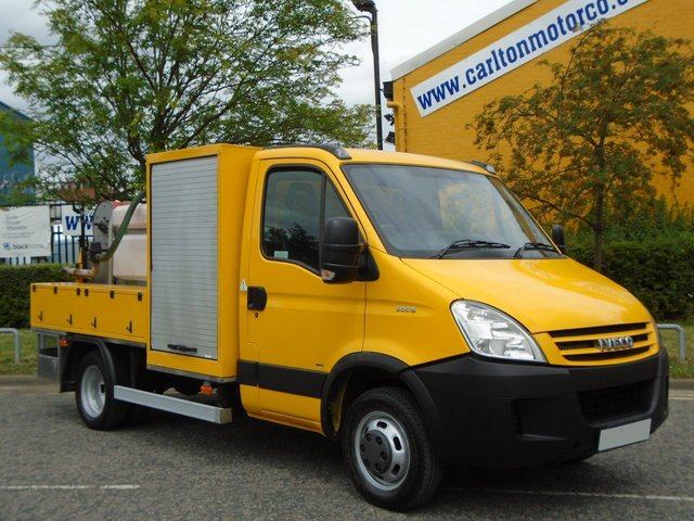 2008 08 IVECO-FORD DAILY 50C15 3.0Hpi S/Cab [ Mobile High Pressure Jetting Whale Unit ] 82K Free UK Delivery