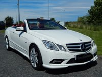 2011 MERCEDES-BENZ E CLASS 2.1 E220 CDI BLUEEFFICIENCY SPORT ED125 2d AUTO 170 BHP £19990.00
